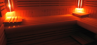 gezellige sauna
